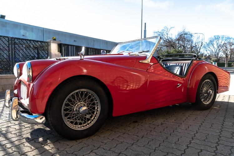 """1958 Triumph TR3A """"Bocca Stretta"""" 17"""