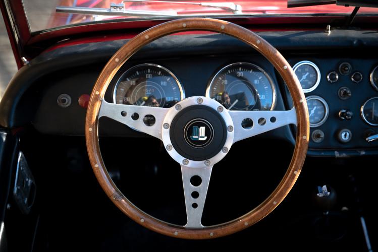 """1958 Triumph TR3A """"Bocca Stretta"""" 19"""