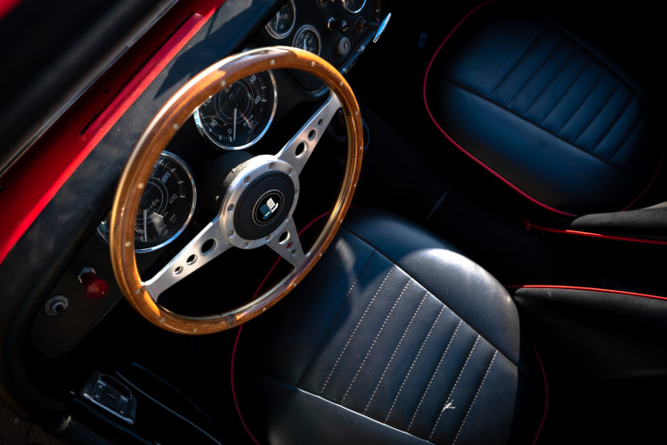 """1958 Triumph TR3A """"Bocca Stretta"""" 23"""