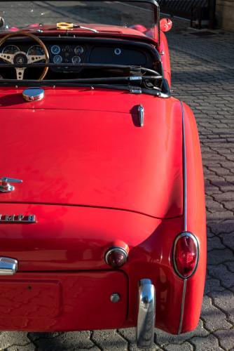 """1958 Triumph TR3A """"Bocca Stretta"""" 30"""