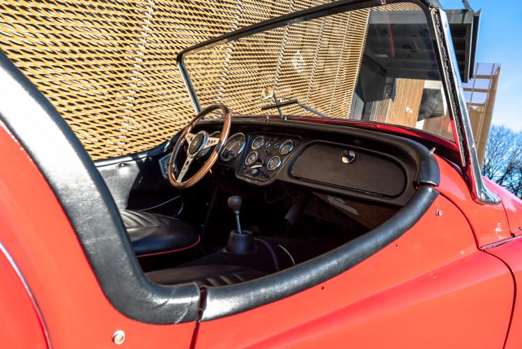 """1958 Triumph TR3A """"Bocca Stretta"""" 31"""
