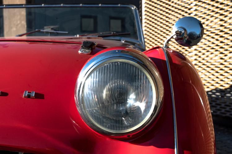 """1958 Triumph TR3A """"Bocca Stretta"""" 1"""