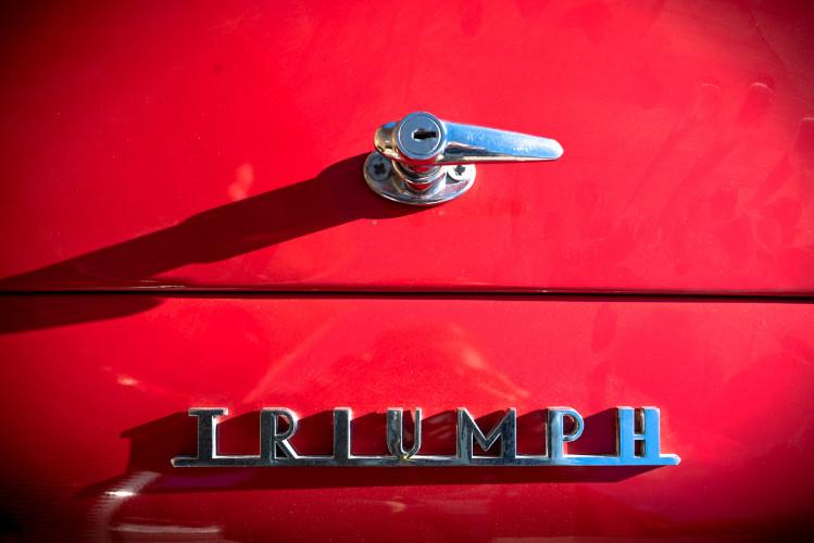 """1958 Triumph TR3A """"Bocca Stretta"""" 8"""