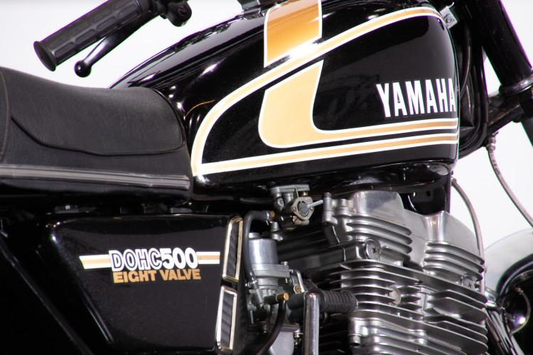1976 Yamaha TX 500 7