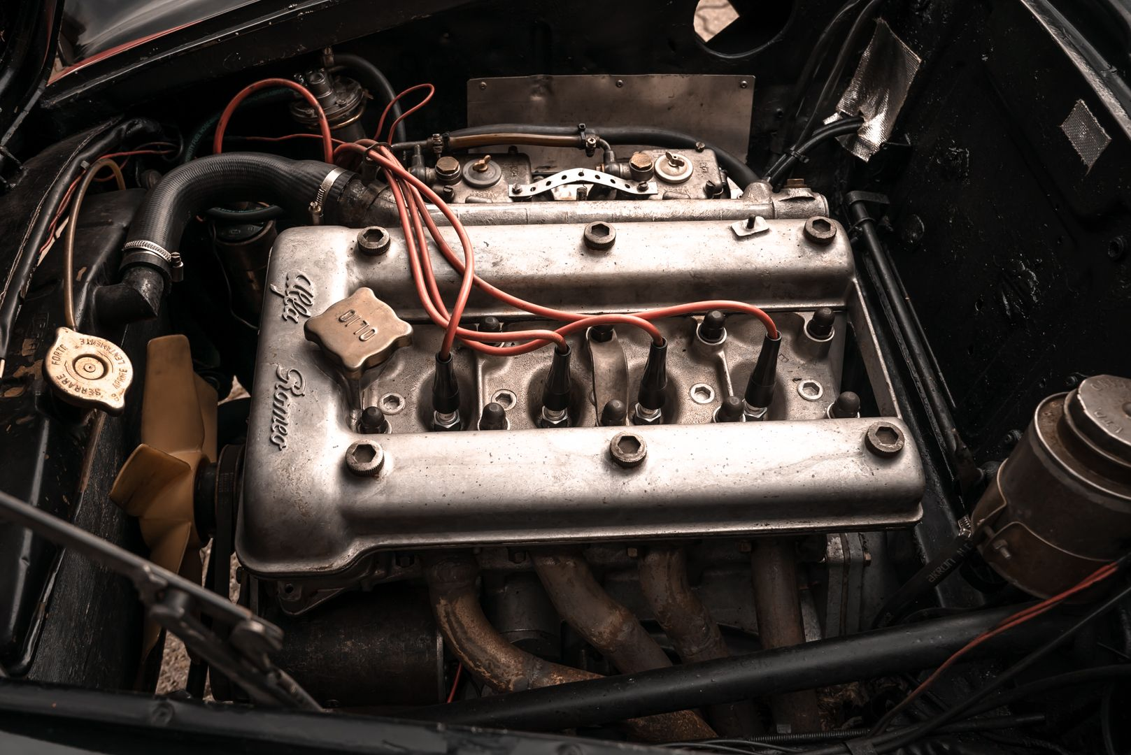 1962 Alfa Romeo Giulietta Sprint 1300 Race Car 69422