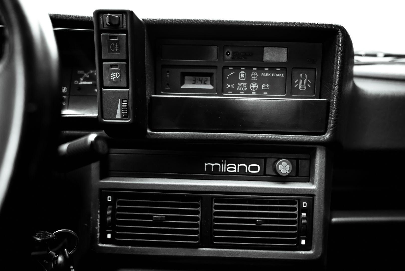1986 Alfa Romeo 75 3000 V6 Milano 79520