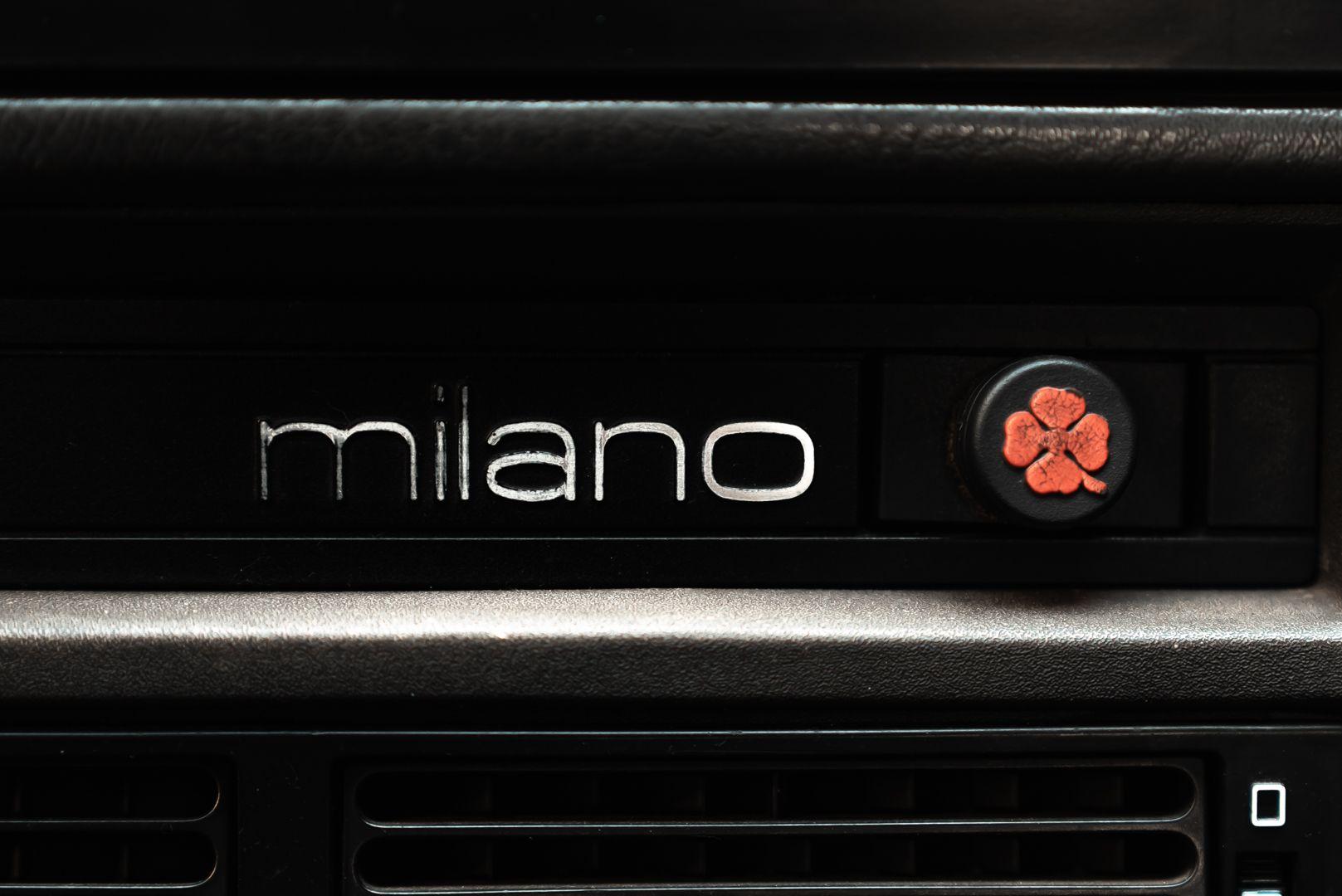 1986 Alfa Romeo 75 3000 V6 Milano 79521