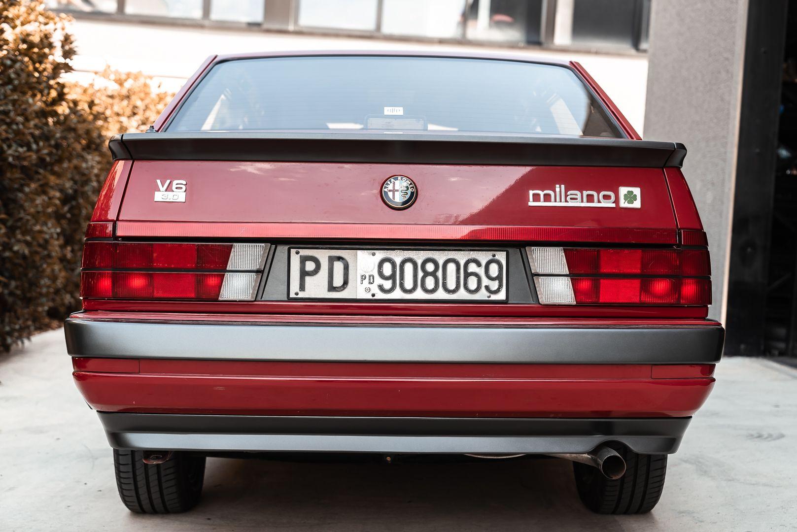 1986 Alfa Romeo 75 3000 V6 Milano 79505