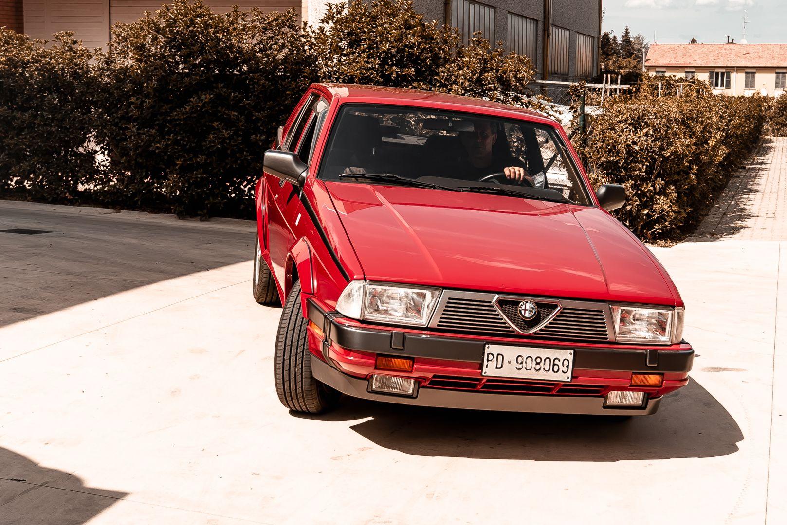 1986 Alfa Romeo 75 3000 V6 Milano 79500