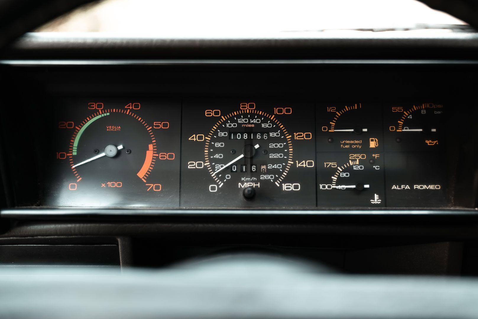 1986 Alfa Romeo 75 3000 V6 Milano 79517