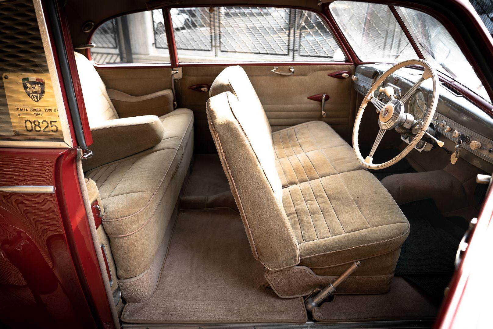 1947 Alfa Romeo Freccia d'oro 6C 2500 Sport 61734