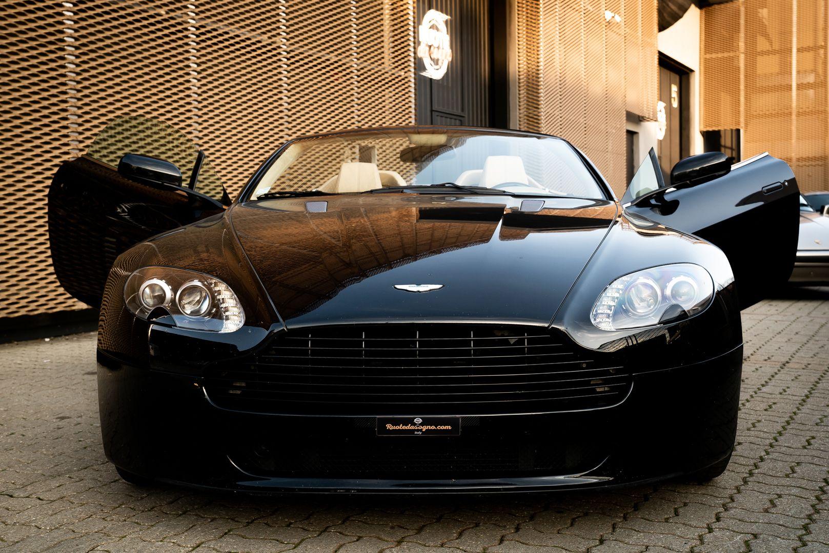 2008 Aston Martin 4.3 V8 Vantage Roadster N400 82806