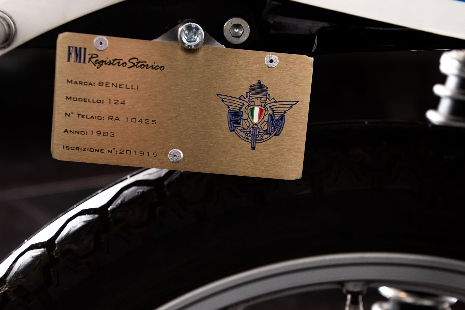 1983 Benelli 124 Sport 74278