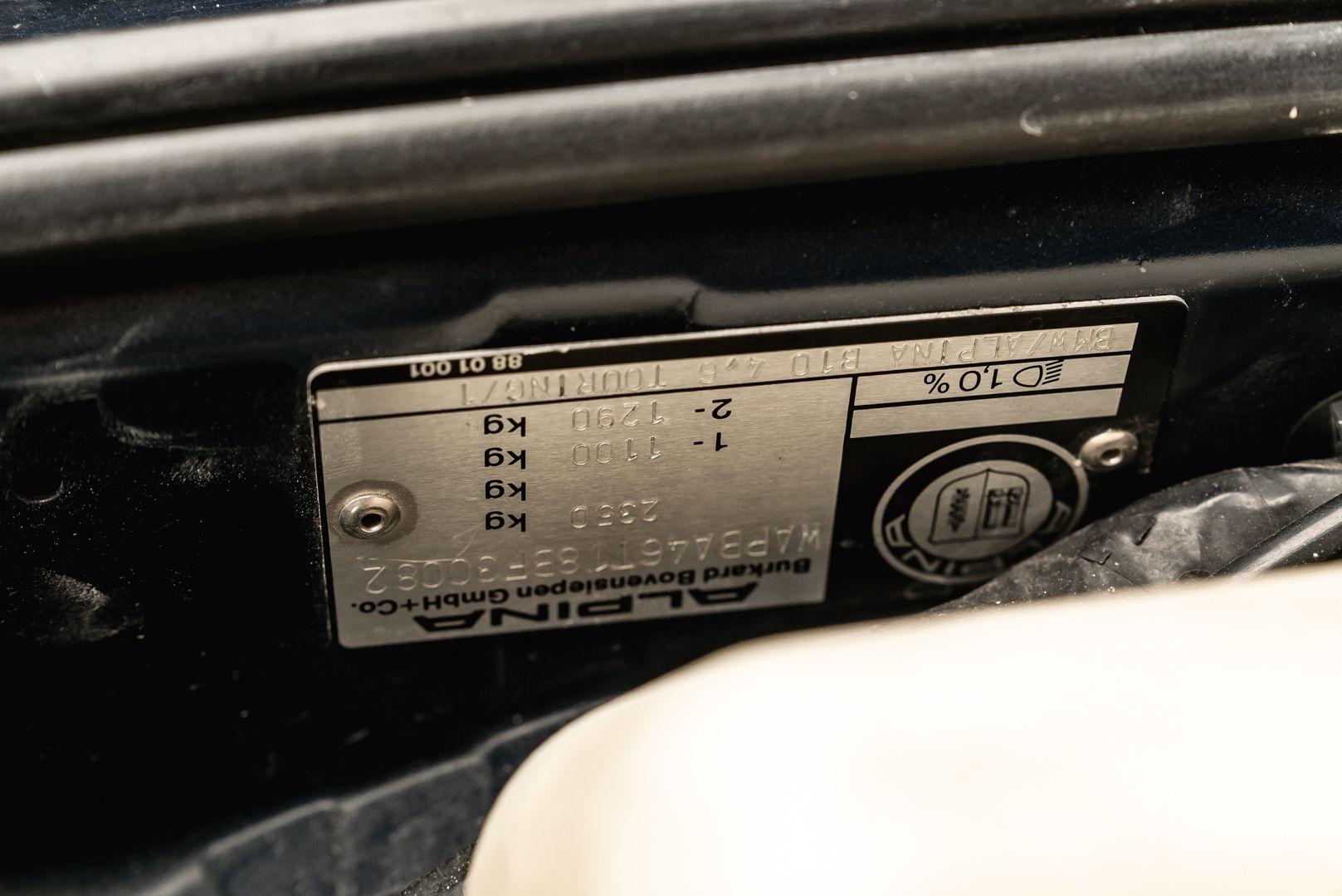 1998 BMW Alpina B10 Touring V8 82/204 78211