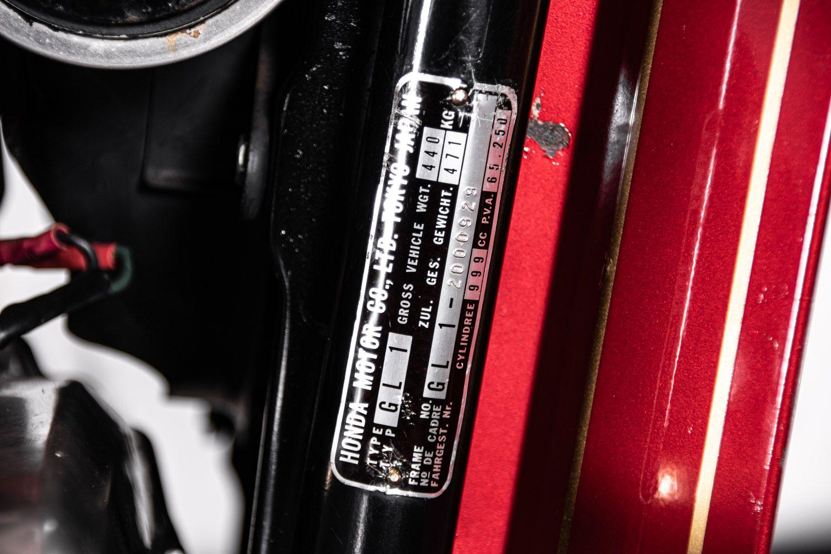 1976 Honda GL 1000 Goldwing 82892