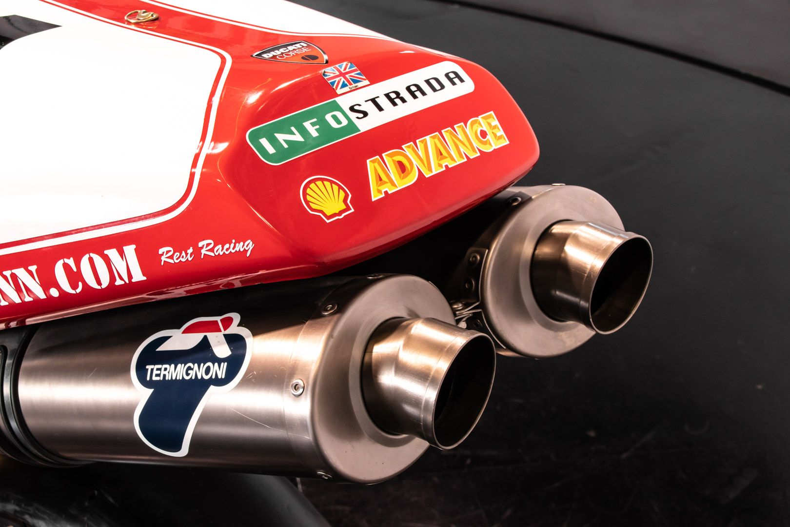 2008 Ducati 996 Fogarty Evocation 03/12 84235
