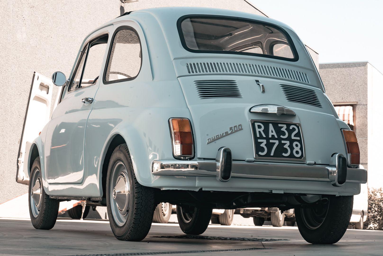 1967 Fiat 500 F 76607