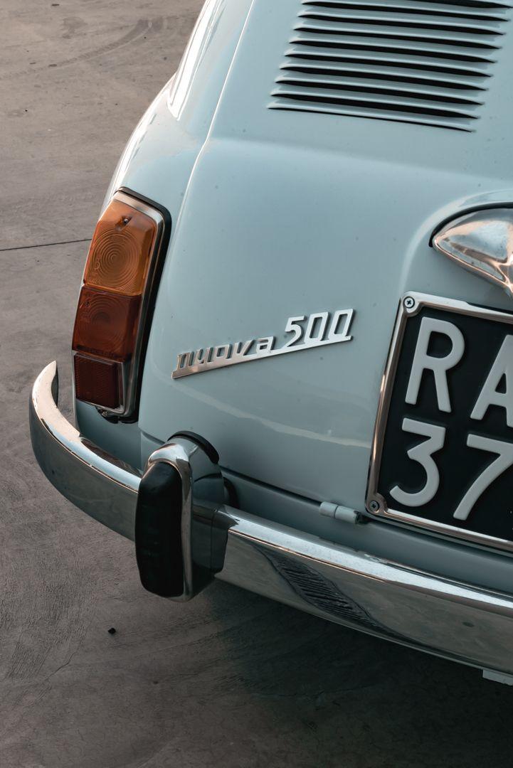 1967 Fiat 500 F 76609