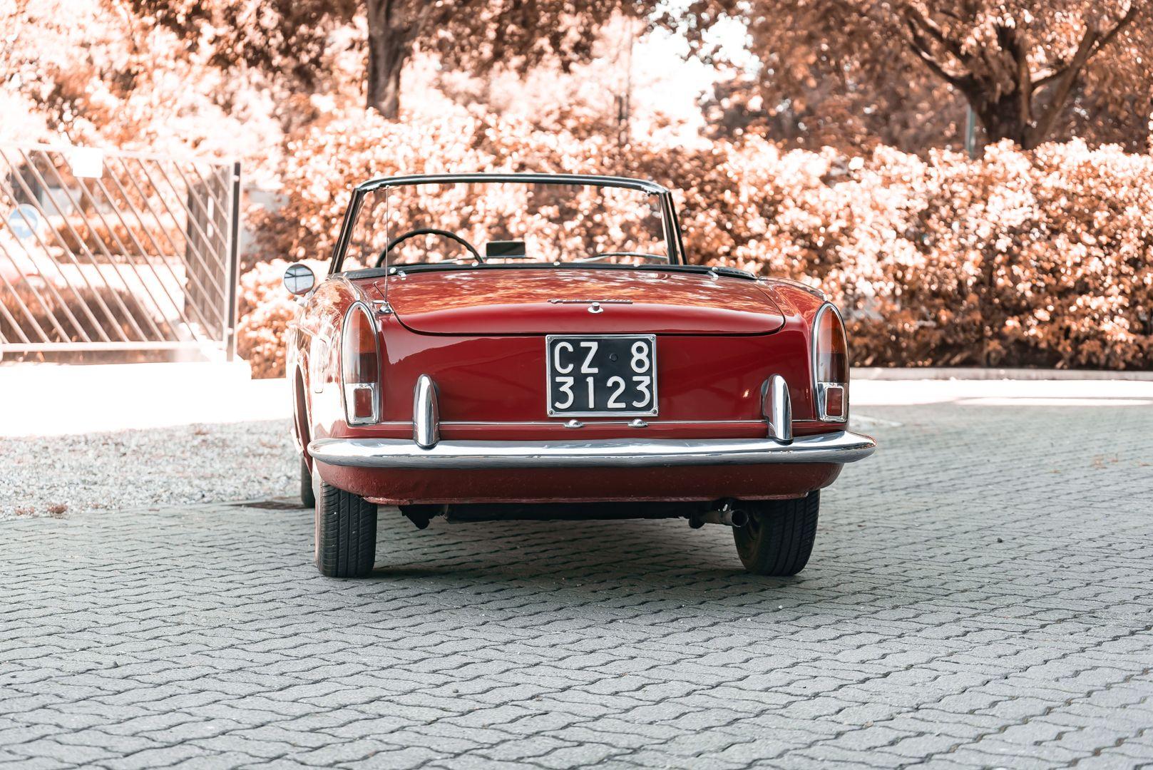1962 Fiat 1200 Cabriolet Pininfarina 76326
