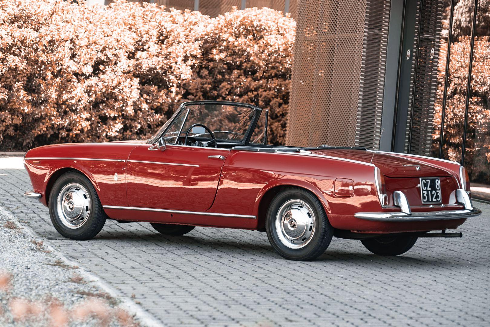 1962 Fiat 1200 Cabriolet Pininfarina 76329