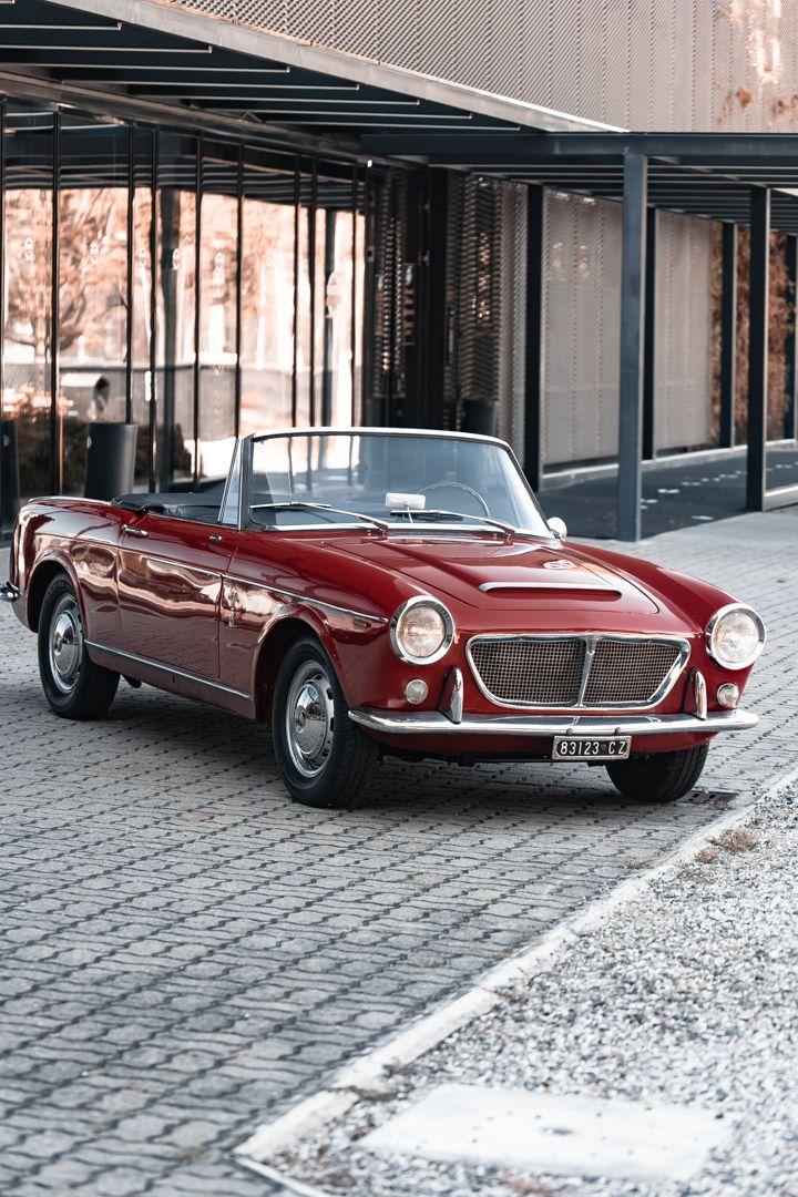 1962 Fiat 1200 Cabriolet Pininfarina 76322