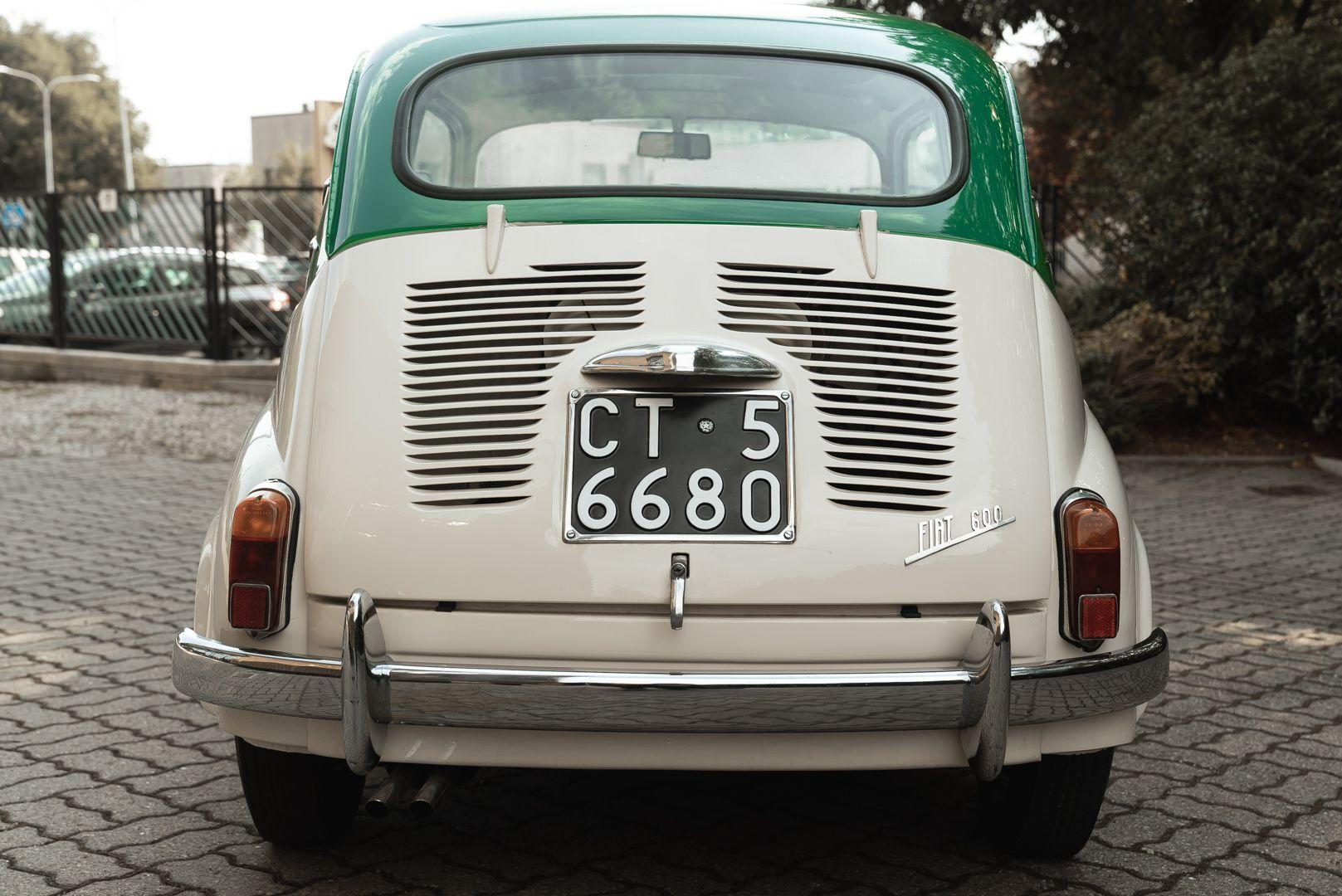 1959 Fiat 600 Lucciola Francis Lombardi 81662