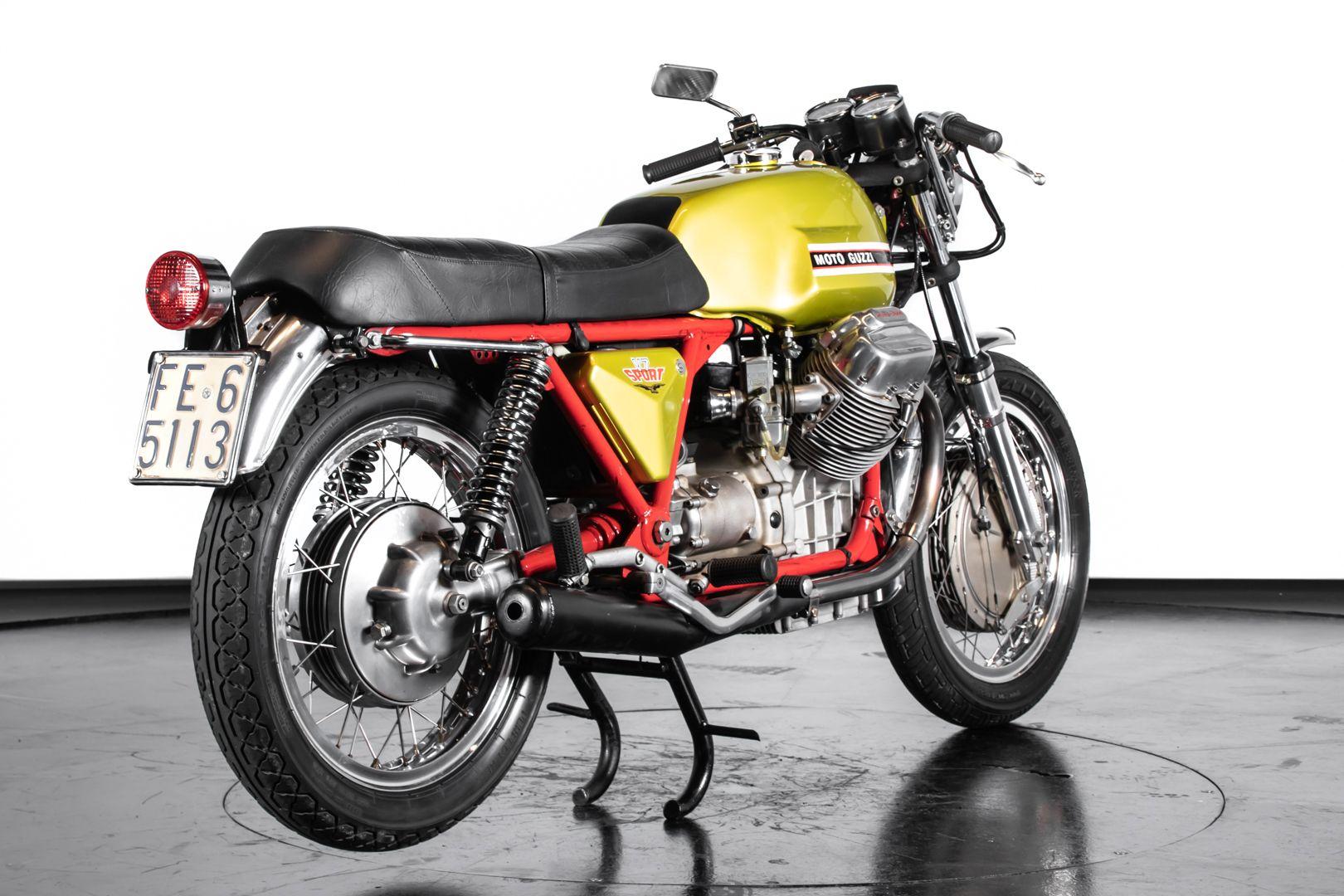 1972 Moto Guzzi V7 Sport Telaio Rosso 76497