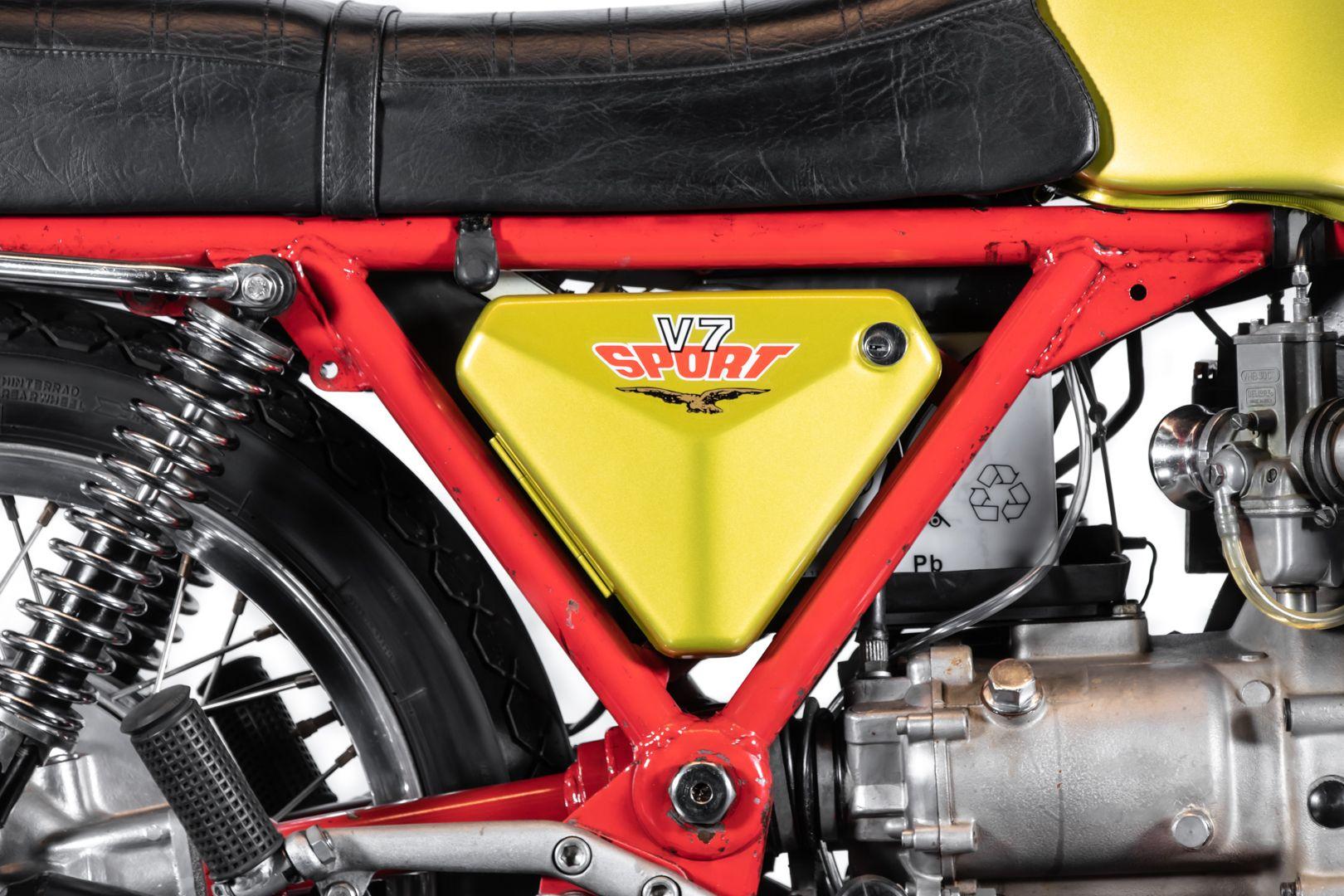 1972 Moto Guzzi V7 Sport Telaio Rosso 76504