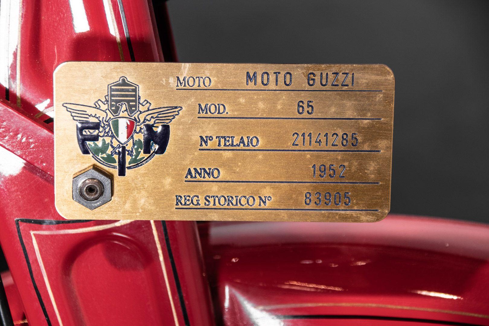 1952 Moto Guzzi Guzzino 65 83824