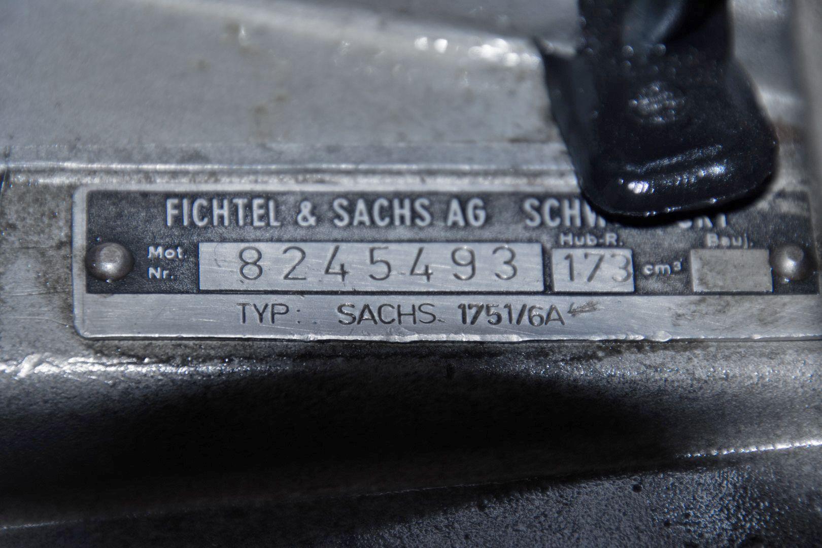 1976 SWM 125 Regolarità Sachs 75200
