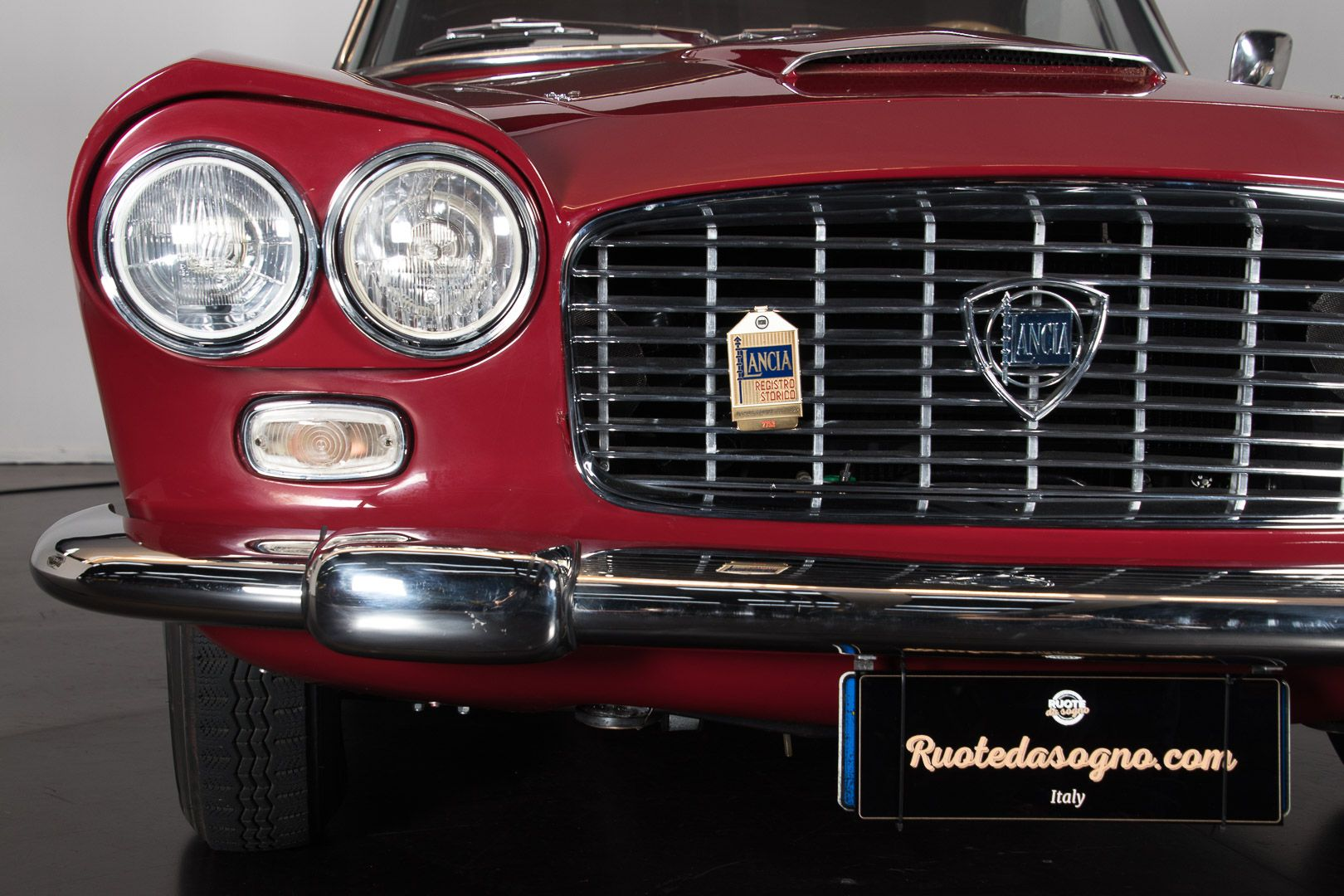 "1962 Lancia Flaminia GT ""Touring"" 2.5 Convertibile 14468"