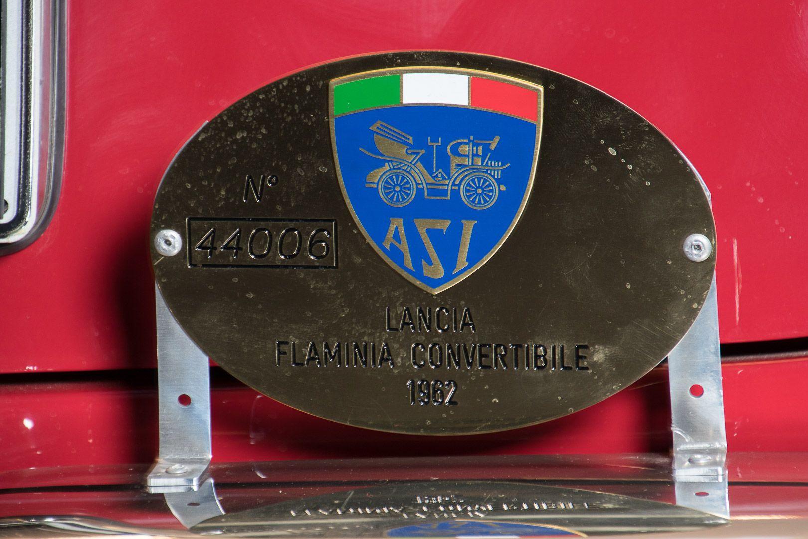 "1962 Lancia Flaminia GT ""Touring"" 2.5 Convertibile 14474"