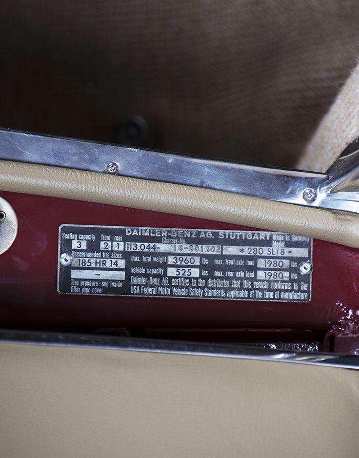 1985 Mercedes-Benz 280 SL 15449