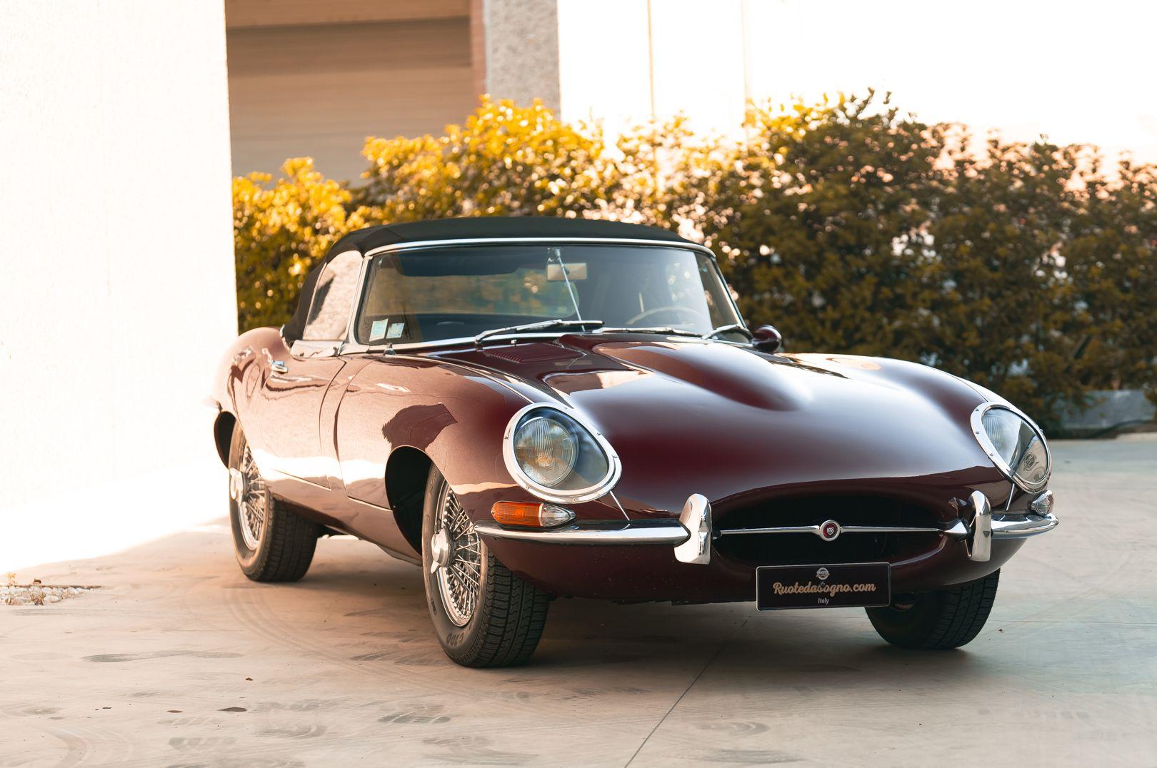 1968 Jaguar E-Type 4.2 Series 1 OTS 75599