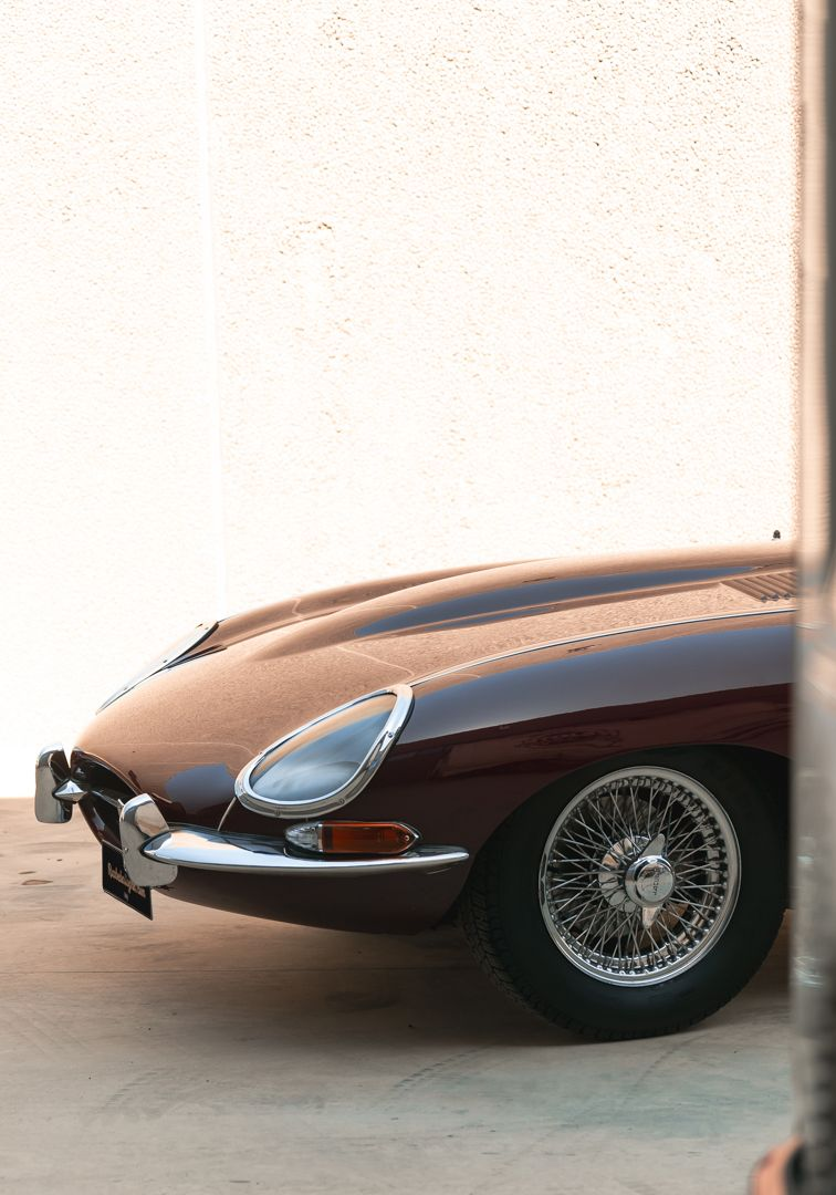 1968 Jaguar E-Type 4.2 Series 1 OTS 75585