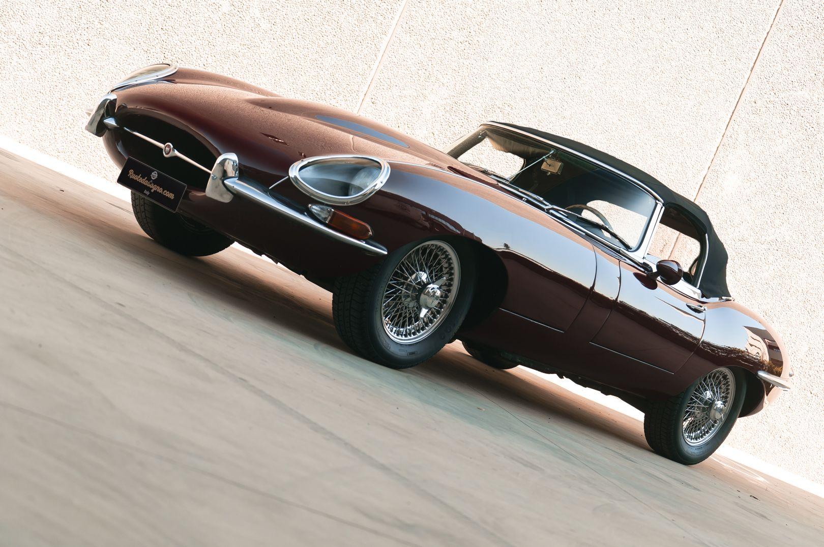 1968 Jaguar E-Type 4.2 Series 1 OTS 75583