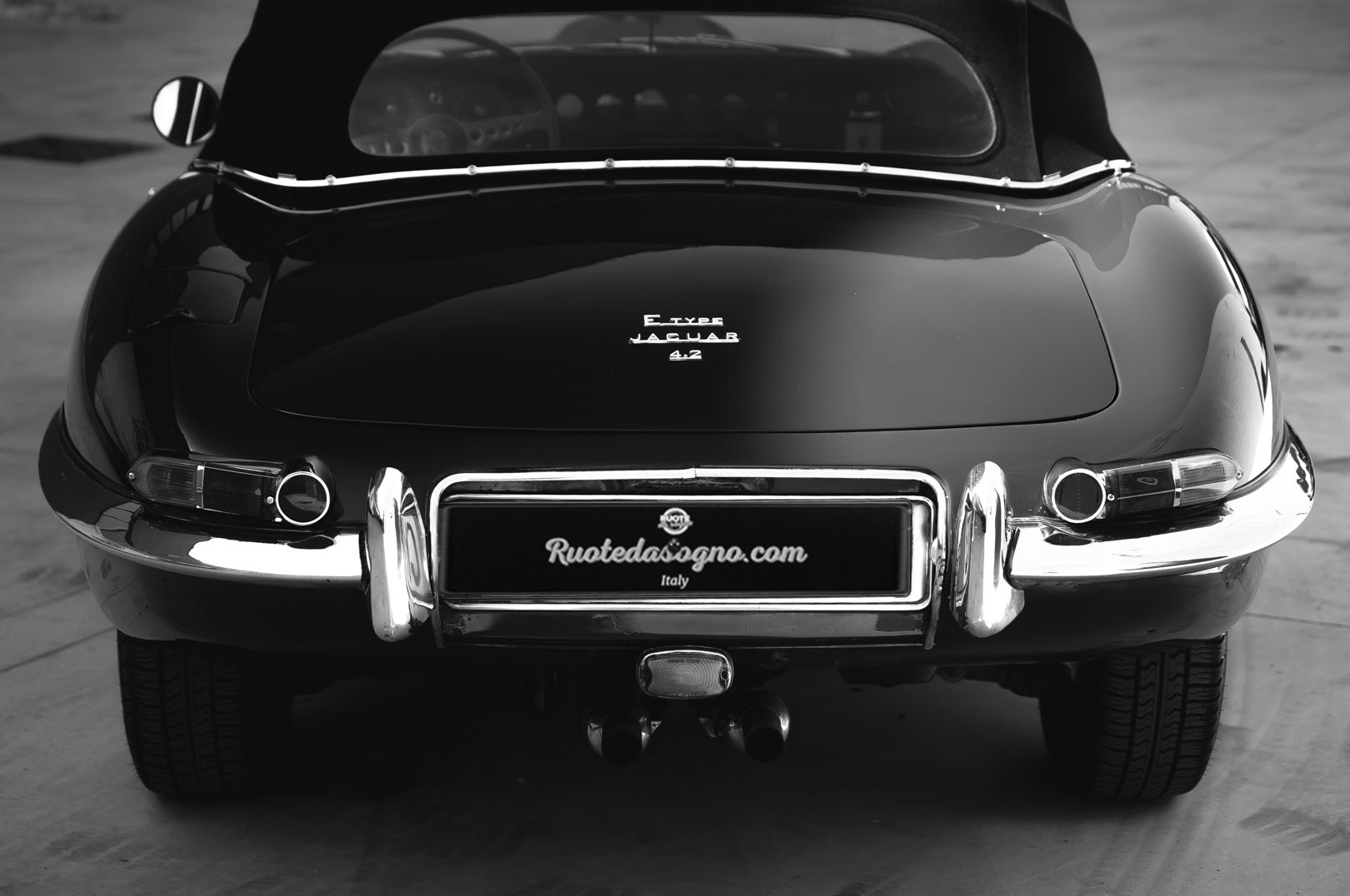 1968 Jaguar E-Type 4.2 Series 1 OTS 75640