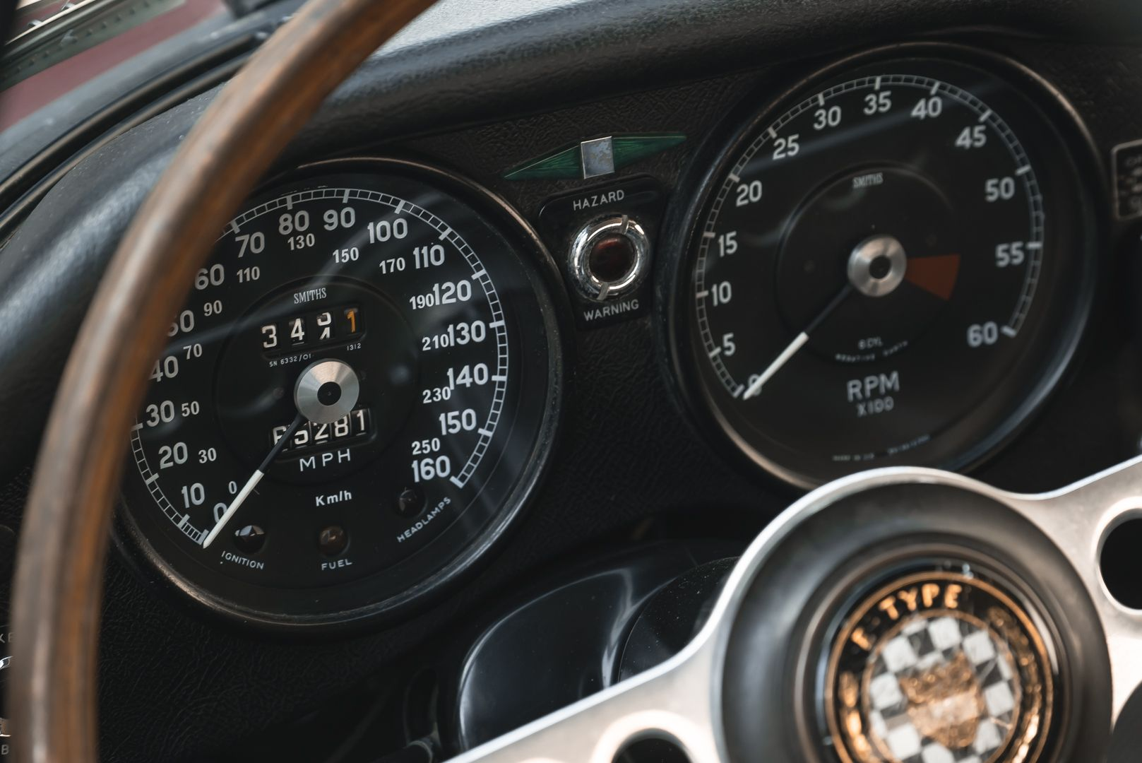1968 Jaguar E-Type 4.2 Series 1 OTS 75619