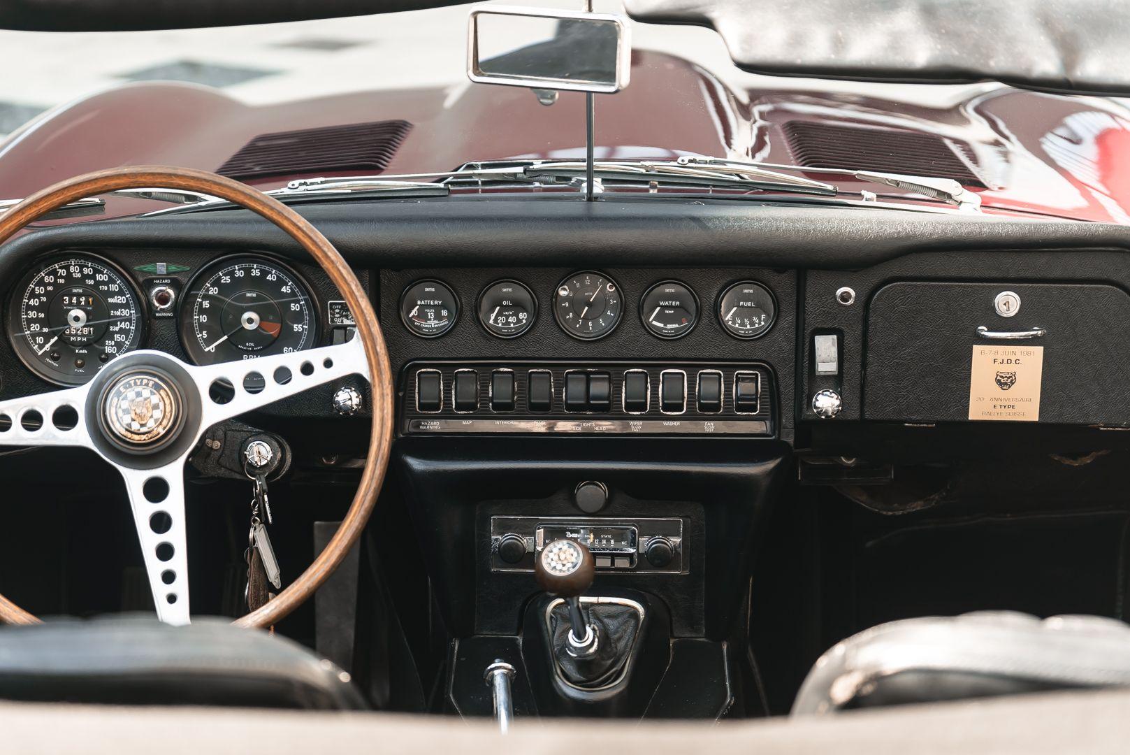 1968 Jaguar E-Type 4.2 Series 1 OTS 75623