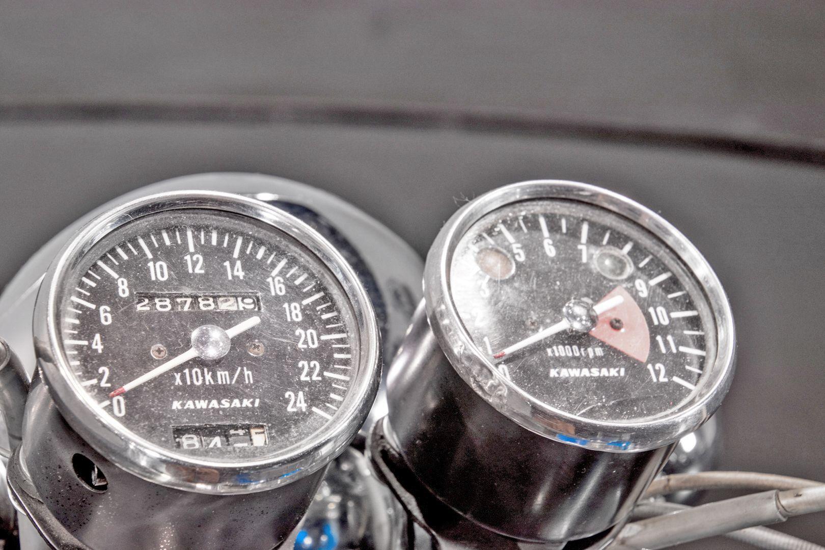 1971 Kawasaki 500 Mach III 71723