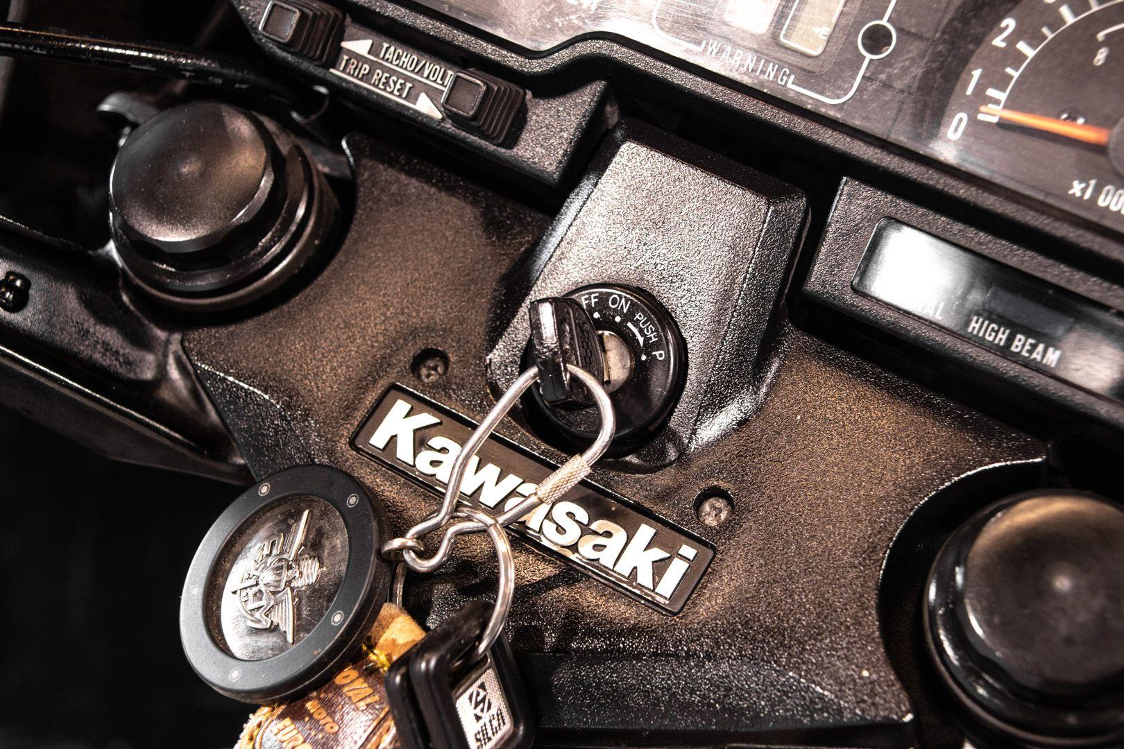 1983 Kawasaki GPZ 1100 83782