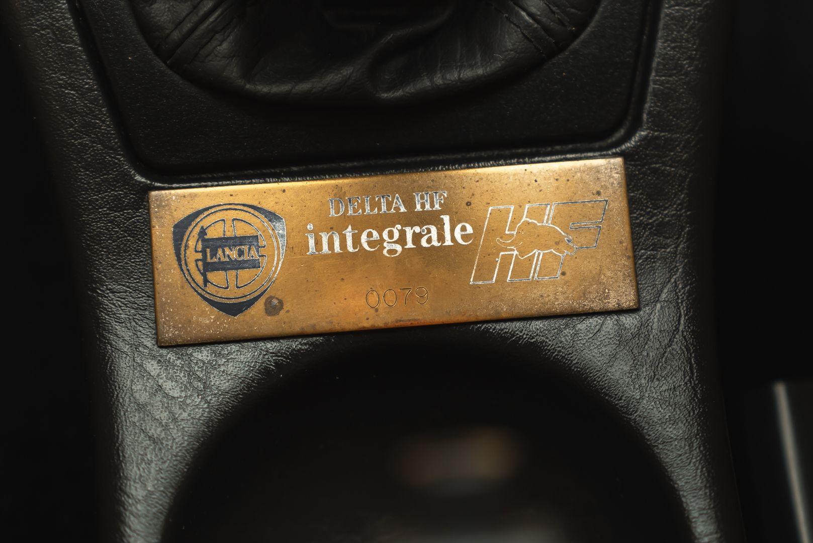 1992 Lancia Delta HF Integrale 16V Evo 1 - 79/250 84837