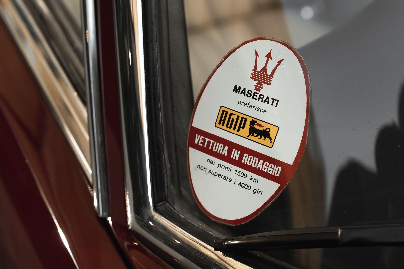 1972 MASERATI MEXICO 4.2 84515