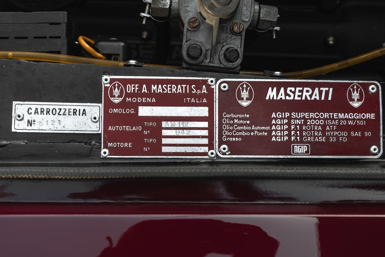1972 MASERATI MEXICO 4.2 84514