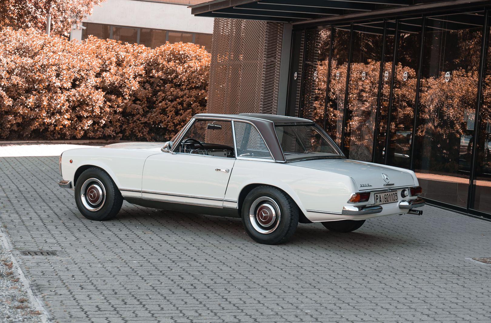 1966 Mercedes Benz SL230 Pagoda 76019