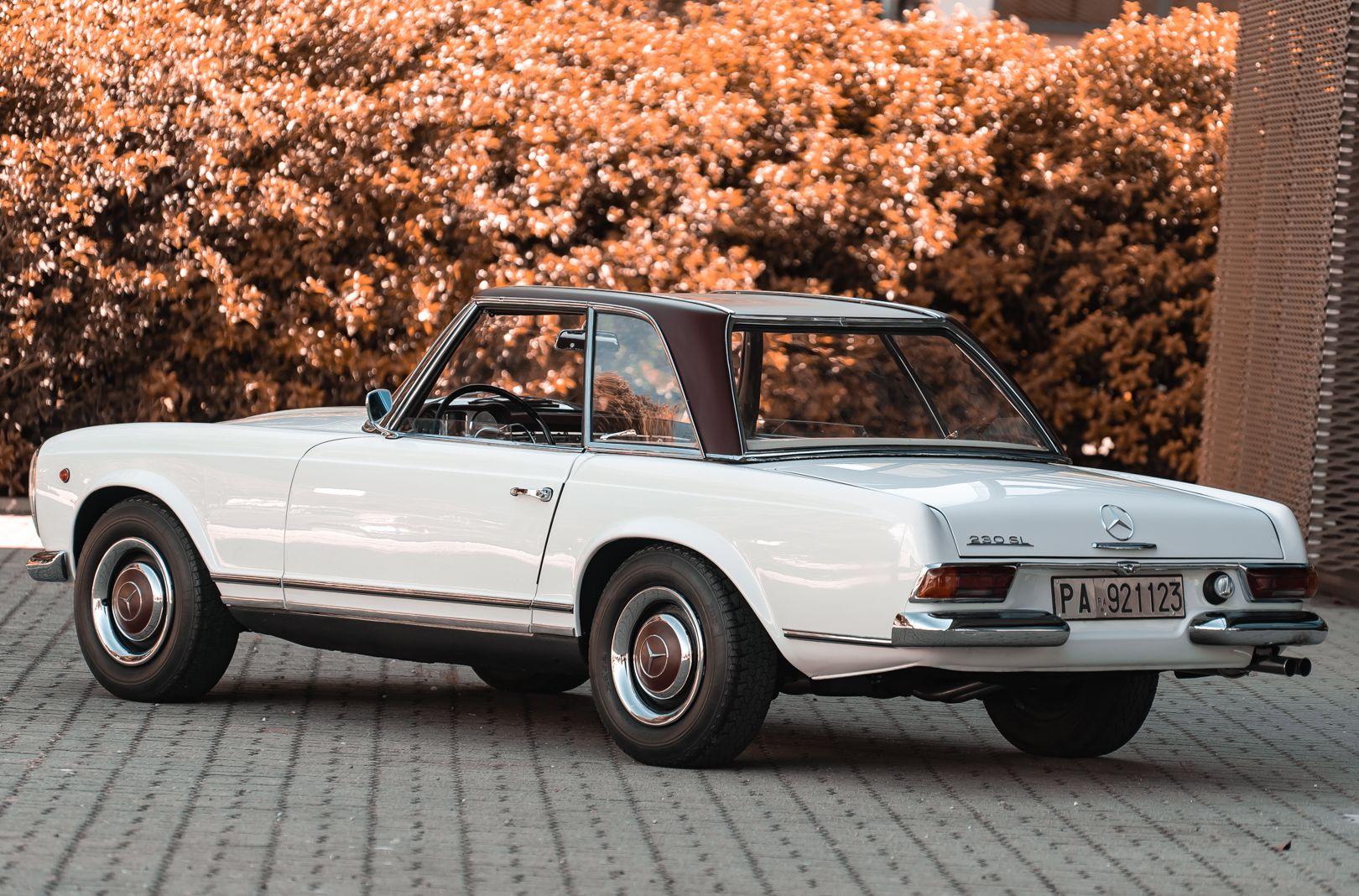 1966 Mercedes Benz SL230 Pagoda 76020