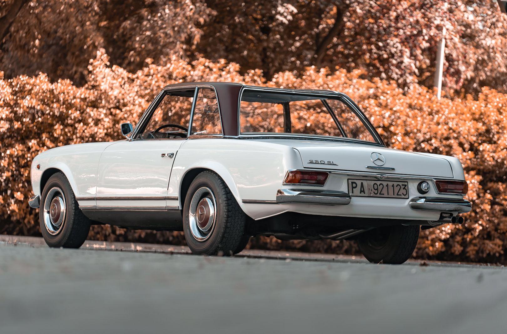 1966 Mercedes Benz SL230 Pagoda 76021