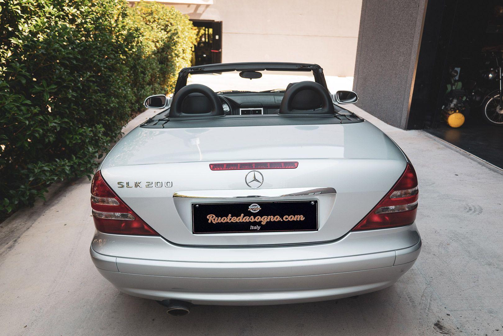 2004 Mercedes Benz 200 SLK Kompressor Special Edition 80710