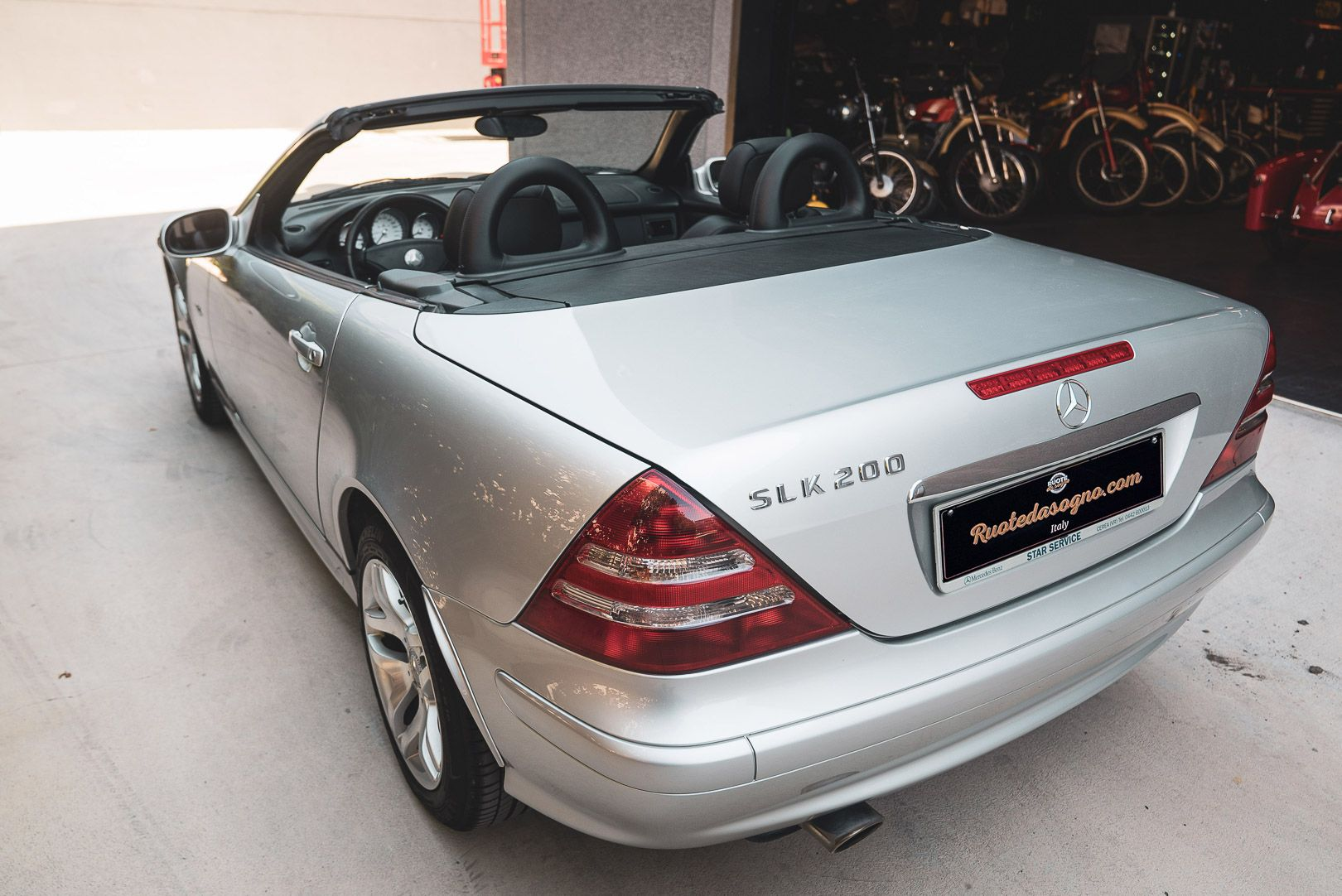 2004 Mercedes Benz 200 SLK Kompressor Special Edition 80715