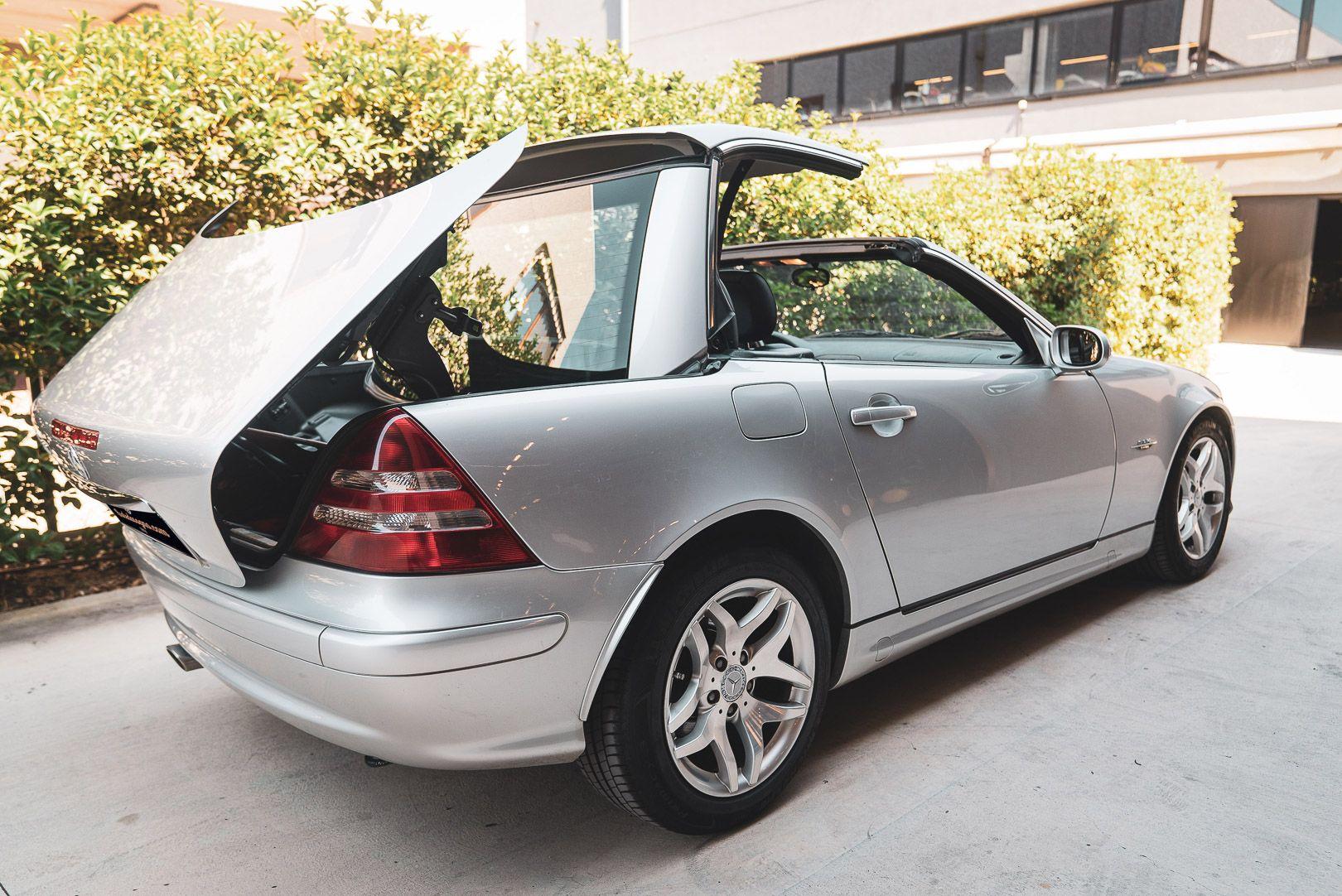 2004 Mercedes Benz 200 SLK Kompressor Special Edition 80725